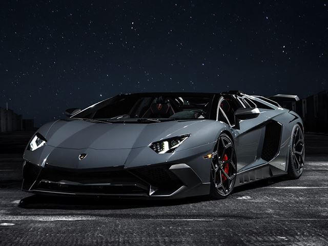 This Supercharged Lamborghini Aventador Sv Has Nearly 1000