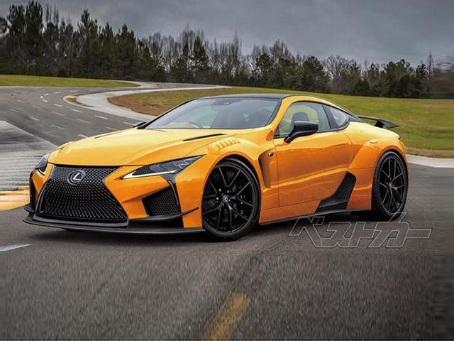 600 hp lexus lc f will take on the nissan gt r in 2019 carbuzz. Black Bedroom Furniture Sets. Home Design Ideas