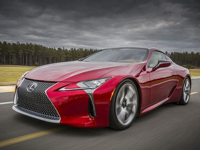 2018 Lexus Lc 500 To Star In Marvel S Black Panther Movie Carbuzz