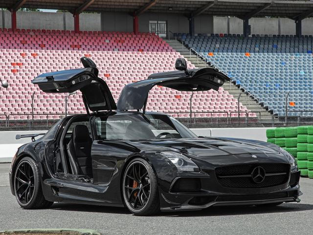 This Is How To Turn The Mercedes SLS AMG Into The Hardcore Black ...