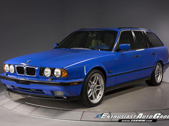 Why Is This Bmw M5 Wagon Worth 130 000 Carbuzz