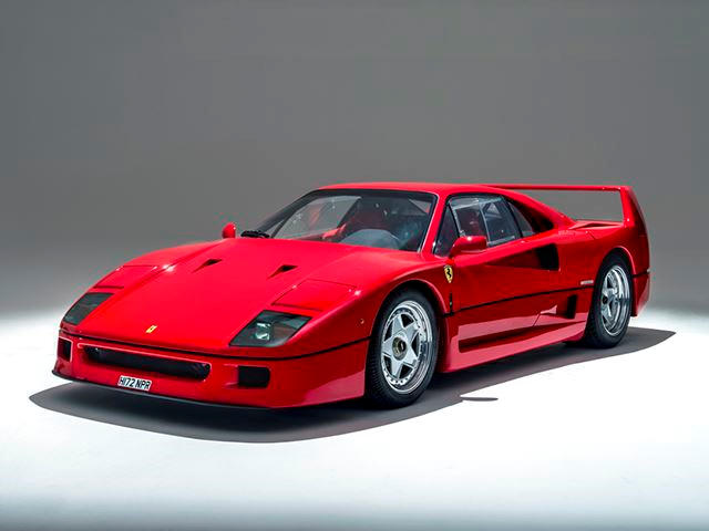 This Ferrari F40 Is Practically Fresh From The Factory - CarBuzz