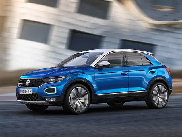 This Is The Volkswagen T Roc: World Debut Of All New SUV   CarBuzz