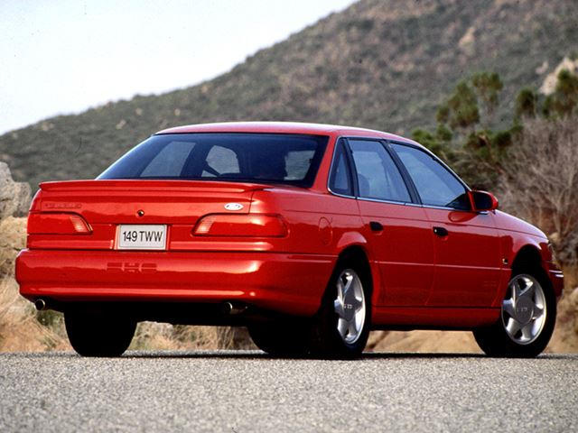 why the old ford taurus sho was not a bmw 5 series killer - carbuzz