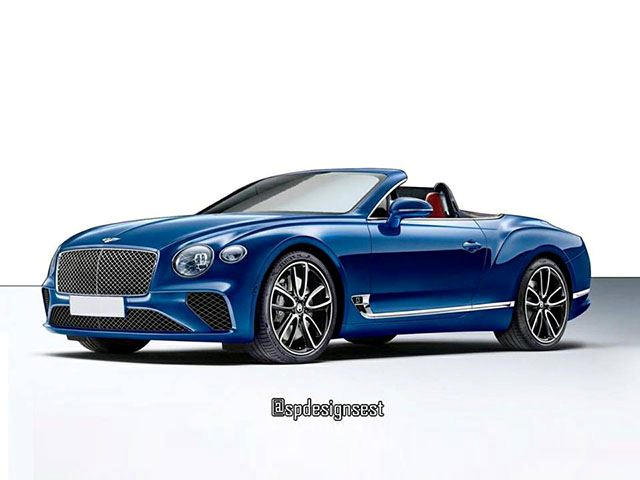 The New Bentley Continental GT Will Look Amazing As A Convertible ...