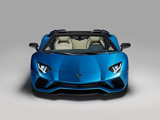 Lamborghini Aventador S Roadster Revealed With 730 Horsepower Carbuzz