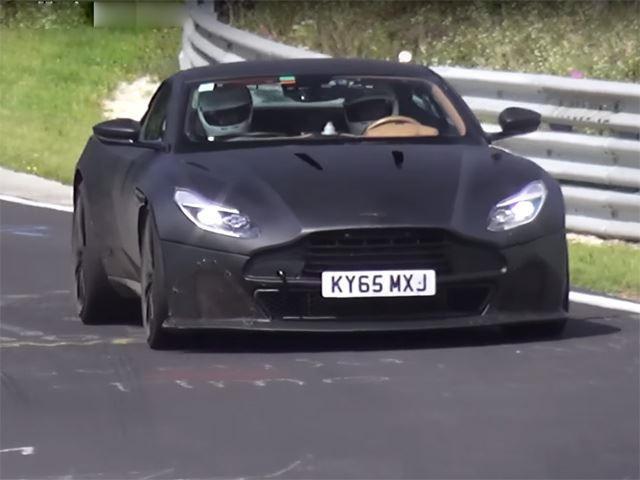 The 2018 Aston Martin Vanquish Will Become A V12 Ferrari Fighter