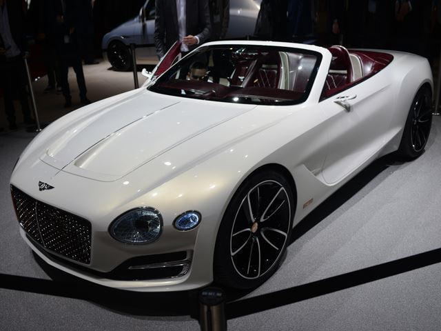 Bentley sport car