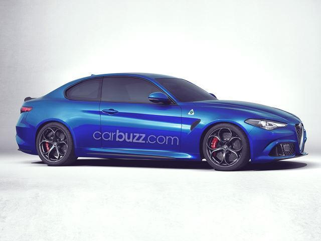 The Next Alfa Romeo Model Will Be A TwoDoor Giulia Coupe CarBuzz - Alfa romeo model