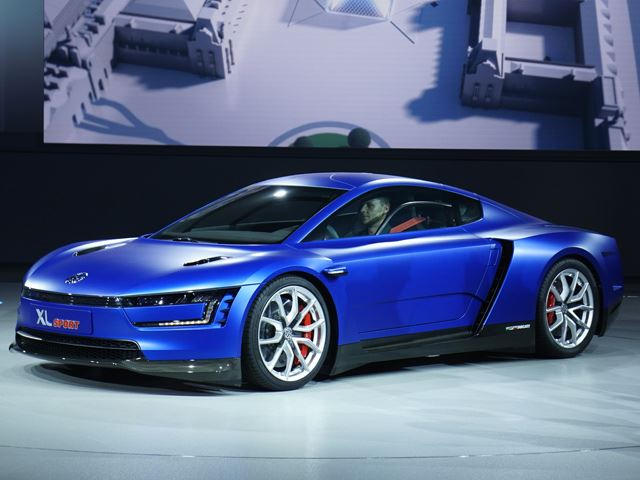 This Is The Future: VW Unveils Ducati Powered XL Sport   CarBuzz