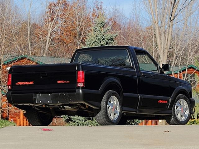 9 1991 GMC Cyclone is the Turbocharged Small Pickup Truck of Your