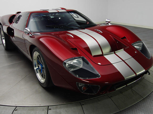 up for sale superb 1966 ford superformance gt40 mk ii with gallery carbuzz. Black Bedroom Furniture Sets. Home Design Ideas