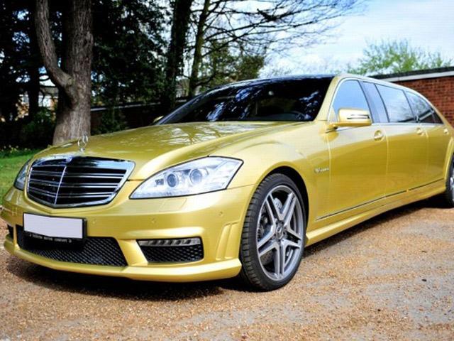 Mercedes benz s65 amg 6 door limousine is one stretch too for Mercedes benz limousine price
