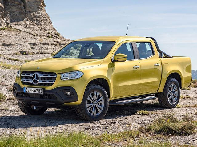 Bmw Pick Up Truck >> Bmw Says The Mercedes X Class Pickup Is Appalling Carbuzz