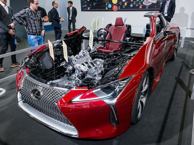 Lexus Cuts Open Lc500 To Show Us How Awesome It Is Carbuzz