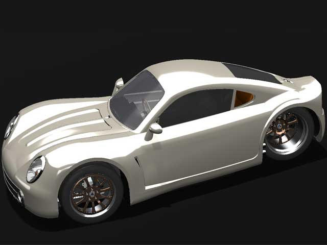 Mystery Solved Three Wheeled Porsche Lookalike Is From
