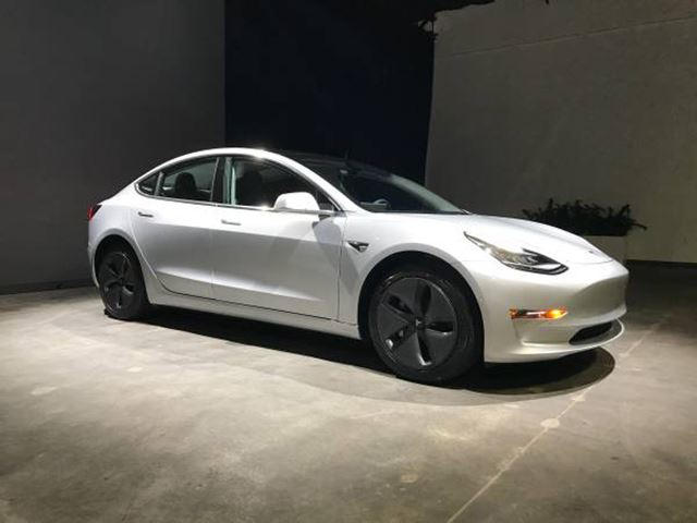 Some Jerk Is Trying To Flip A Tesla Model For Triple Its - A tesla