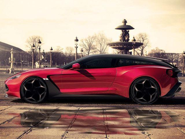 Aston Martin Breaks The Internet With New Vanquish Zagato Shooting - New aston martin zagato