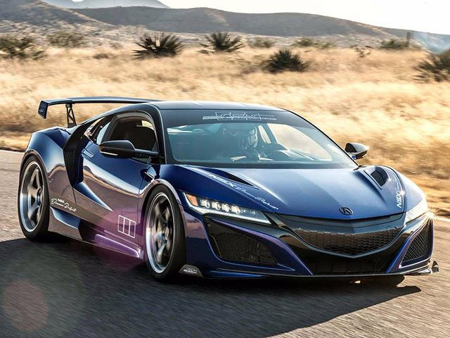 Acura NSX Dream Project Is A 610-HP Beauty - CarBuzz