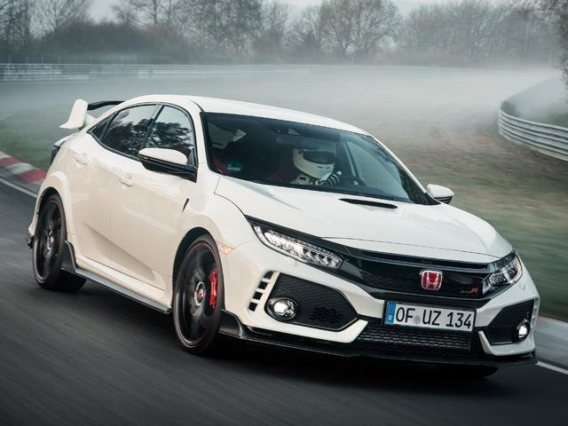 honda civic type r exceeds official top speed in autobahn. Black Bedroom Furniture Sets. Home Design Ideas