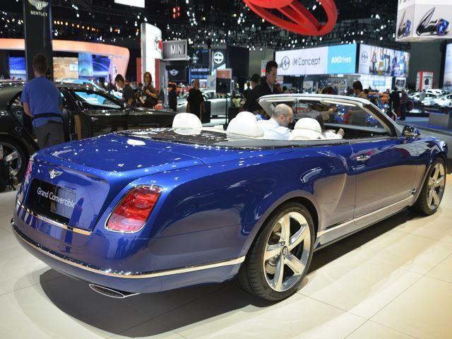 Bentley Mulsanne Grand Convertible Enters Production Carbuzz
