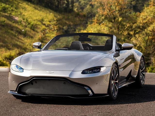 new aston martin vantage would make a stunning roadster - carbuzz