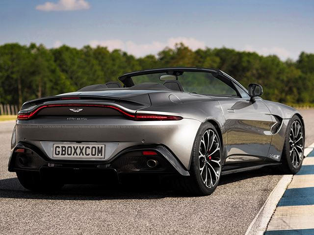 new aston martin vantage would make a stunning roadster carbuzz. Black Bedroom Furniture Sets. Home Design Ideas