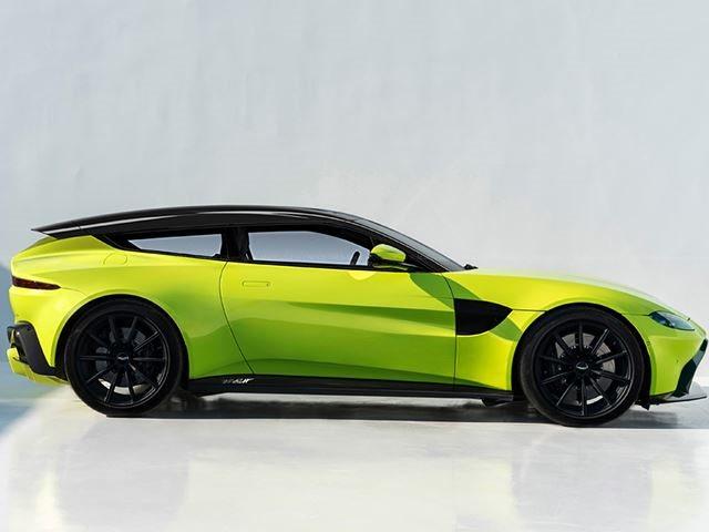Attractive New Aston Martin Vantage Still Looks Stunning As A Shooting Brake ...