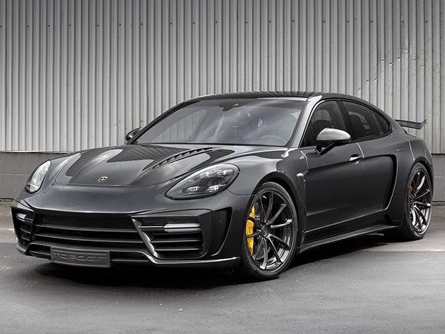 Porsche Panamera Turbo Receives Extensive Carbon Fiber Makeover