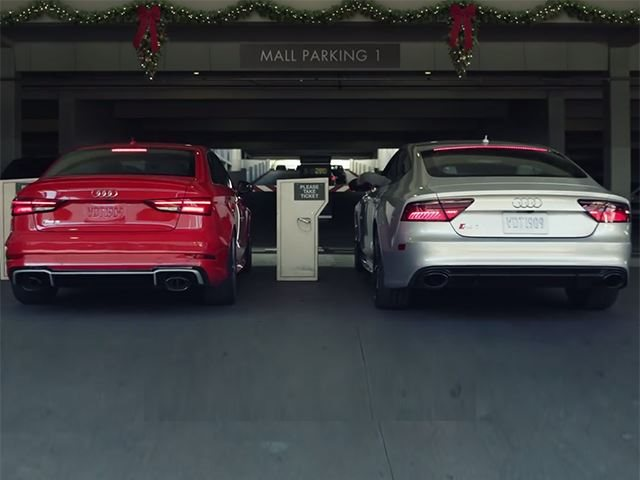 This Audi Commercial Will Get You Pumped To Shop For The Holidays - Audi car commercial