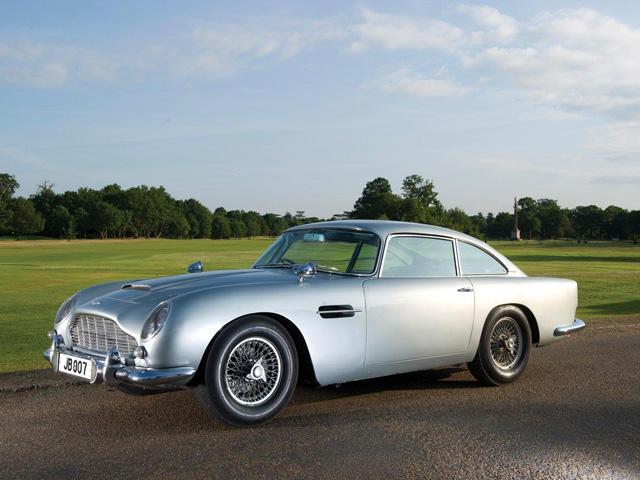 Vintage Aston Martin DB5 Back For James Bondu0027s Skyfall   CarBuzz