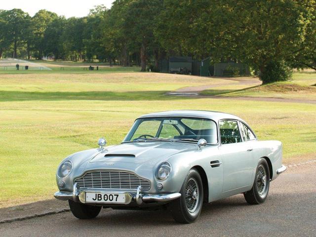 High Quality Vintage Aston Martin DB5 Back For James Bondu0027s Skyfall   CarBuzz
