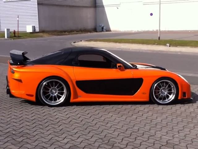 F F Style Veilside Rx 7 Fortune For Sale Carbuzz