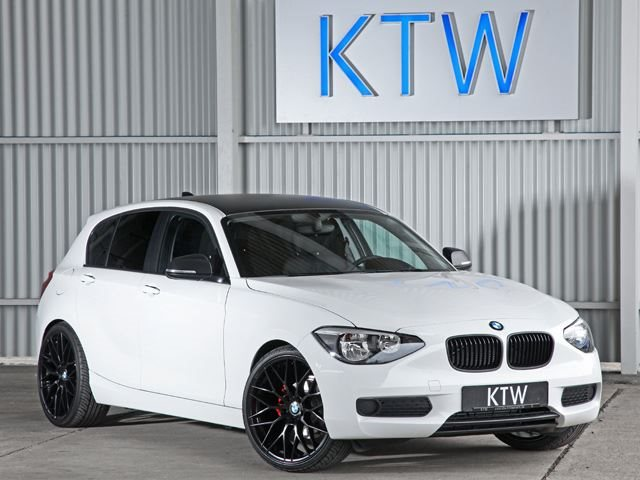 a79ece38a0fe9d Black and White BMW 1 Series by KTW Tuning