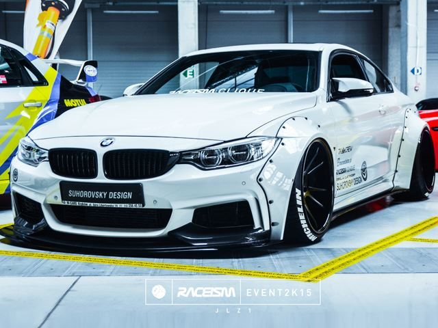 is this the most badass bmw 4 series body kit ever carbuzz. Black Bedroom Furniture Sets. Home Design Ideas