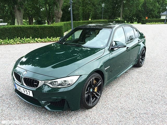 Why Does British Racing Green Look Perfect On The M3?   CarBuzz