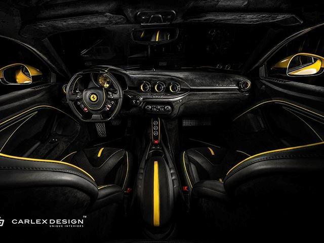 Ferrari F12 Interior >> This Ferrari F12 Berlinetta Custom Interior Is A Feast For The Eyes