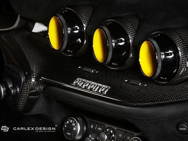 This Ferrari F12 Berlinetta Custom Interior Is A Feast For The Eyes ...