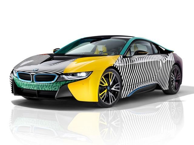 BMW I8 And I3 Receive Makeover Inspired By 1980u0027s Italian ...