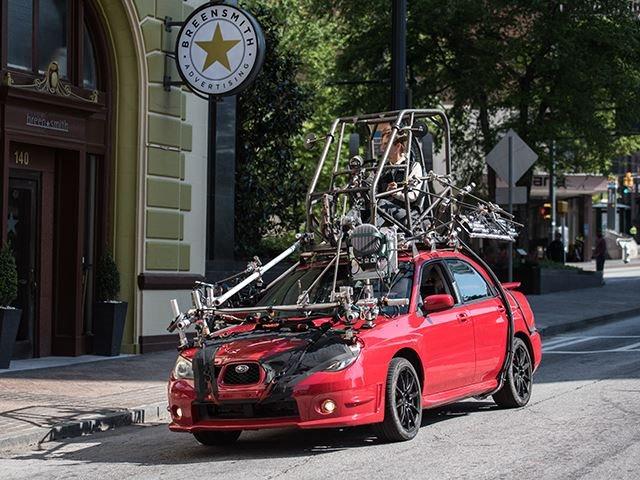 Subaru wrx car and driver