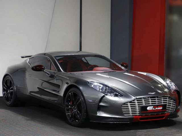 The One 77 Is Still The Most Expensive Aston Martin On The Market