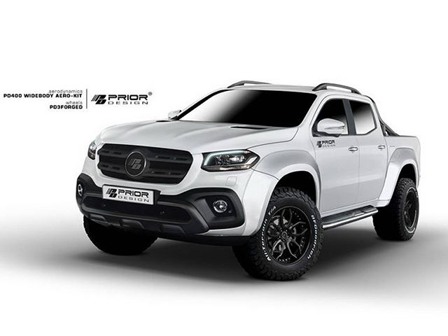 Mercedes X Class Gains Some Extra Muscle With New Widebody Kit Carbuzz