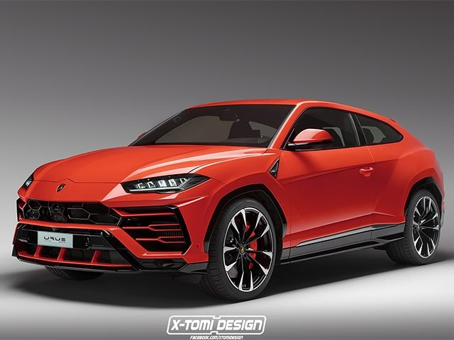 What If The Lamborghini Urus Was A Sporty Three Door Coupe Carbuzz