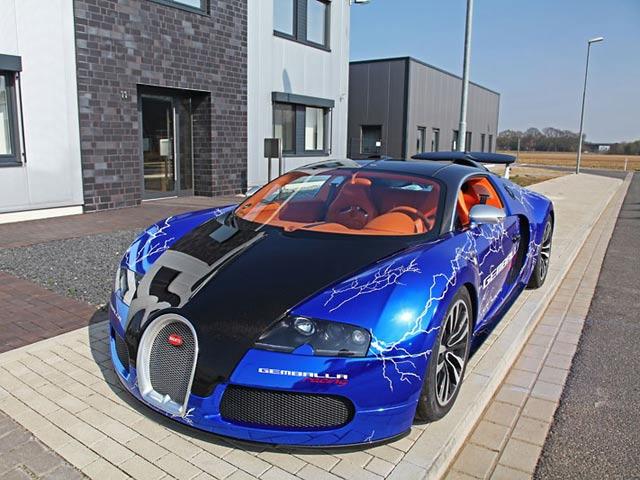 Gemballa Racingu0027s Fast And Furious Bugatti Veyron Sang Noir   CarBuzz