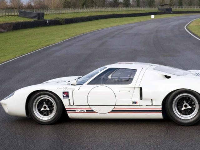 Imperious Ford Gt40 Race Car Up For Sale Carbuzz