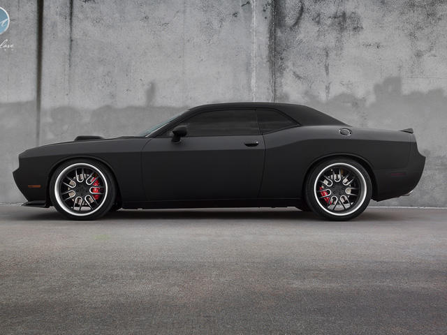 2012 Dodge Challenger Srt 8 One Off In Matte Black Carbuzz