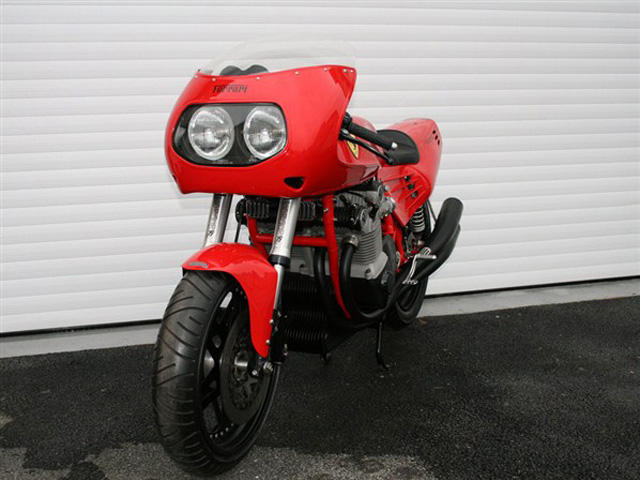 World's Only Ferrari Motorbike Sold for £85k in Auction - CarBuzz