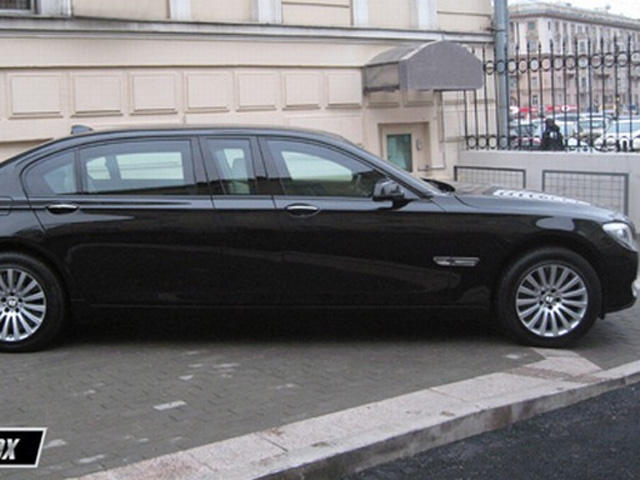 Armored and Stretched BMW 760 Xli High Security by Armortech - CarBuzz