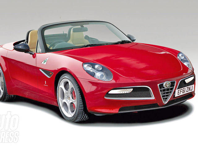 what alfa romeo's mx-5-based roadster could look like - carbuzz