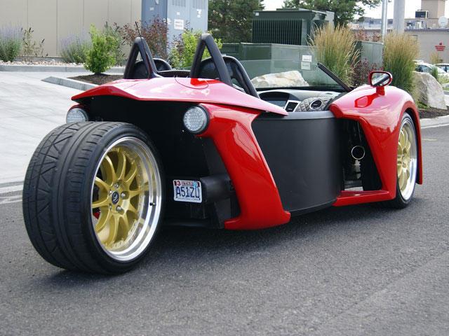 Vanderhall Introduce Three-Wheel Roadster Prototype - CarBuzz